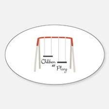 Swing Set Decal