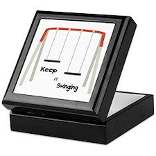 Keep It Swinging Keepsake Box