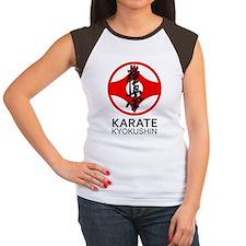 Kyokushin Karate Symbol Women's Cap Sleeve T-Shirt