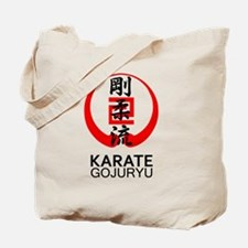 Gojuryu Karate Symbol and Kanji Tote Bag
