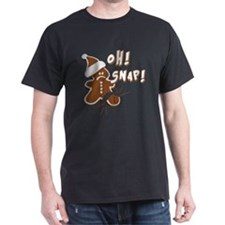 FUNNY OH Snap Gingerbread Man T-Shirt