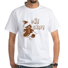 FUNNY OH Snap Gingerbread Man Shirt