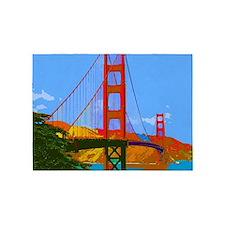 Golden Gate Bridge 009 5'x7'Area Rug