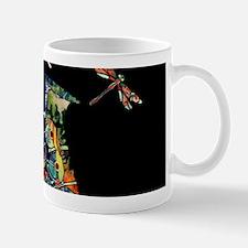 Sax on black Mug