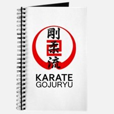 Gojuryu Karate Symbol and Kanji Journal