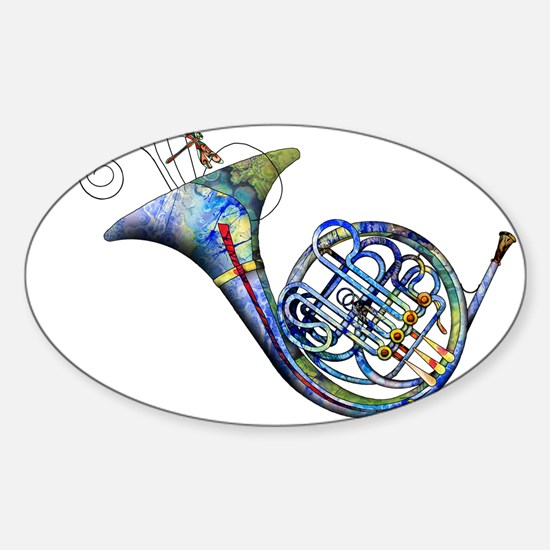 French Horn Decal