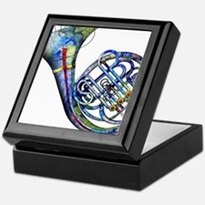 French Horn Keepsake Box