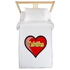 Tabitha Heart Twin Duvet