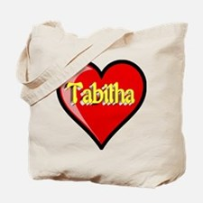 Tabitha Heart Tote Bag