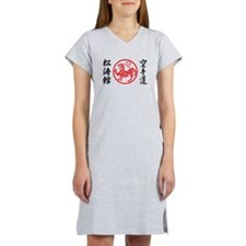 Shotokan Karate Symbol Women's Nightshirt