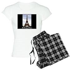 The Beauty of France-Eiffel Pajamas
