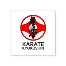 Kyokushin Karate Symbol and Kanji Sticker
