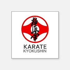 Kyokushin Karate Symbol and Kanji Sticker