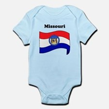 Missouri State Flag Body Suit