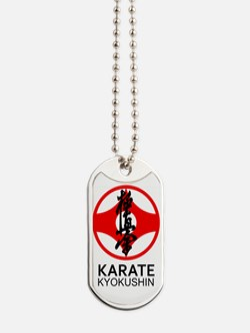 Kyokushin Karate Symbol and Kanji Dog Tags