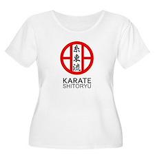 Shitoryu Karate Symbol and Kanji Plus Size T-Shirt