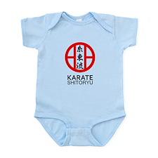 Shitoryu Karate Symbol and Kanji Body Suit