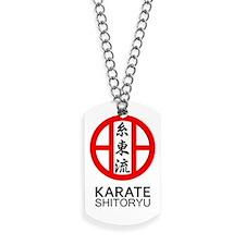 Shitoryu Karate Symbol and Kanji Dog Tags