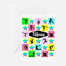 FIERCE GYMNAST Greeting Cards (Pk of 10)