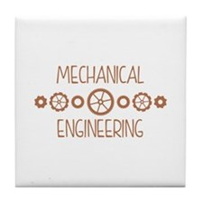 Mechanical Engineering Tile Coaster