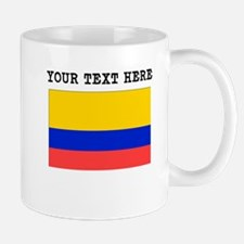 Custom Colombia Flag Mugs