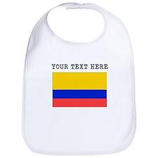 Custom Colombia Flag Bib