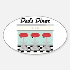 Dad's Diner Decal