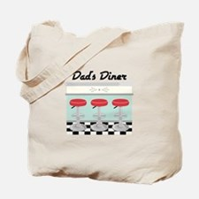 Dad's Diner Tote Bag