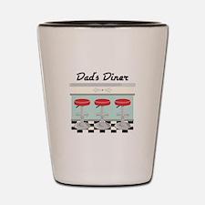 Dad's Diner Shot Glass