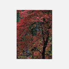 Fall Oak Tree 5'x7'Area Rug