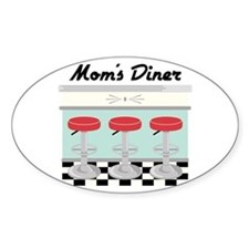 Mom's Diner Decal