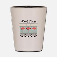 Mom's Diner Shot Glass