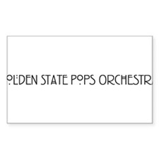 Golden State Pops Orchestra Decal