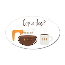Cup A Joe? Wall Decal