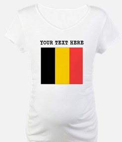 Custom Belgium Flag Shirt