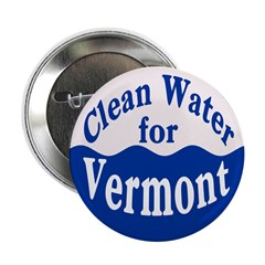 Clean Water for Vermont Button