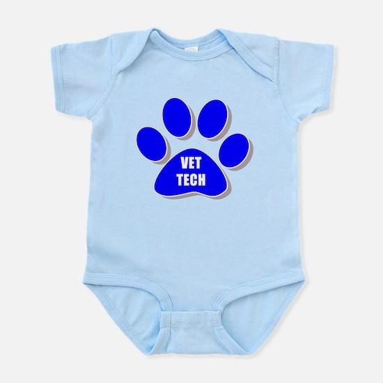 vet tech paw blue Body Suit