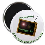 Froggy TV Magnet