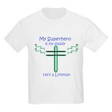 Superhero Lineman T-Shirt