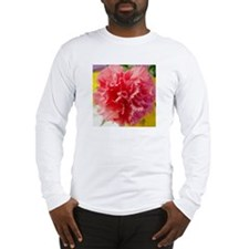 Long Sleeve T-Shirt. Pink carnation
