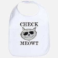 Check Meowt Bib