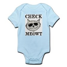 Check Meowt Body Suit