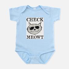 Check Meowt Body Suit