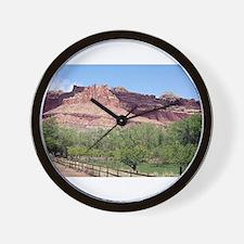 Fruita, Capitol Reef National Park, Uta Wall Clock