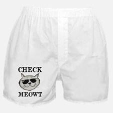 Check Meowt Boxer Shorts