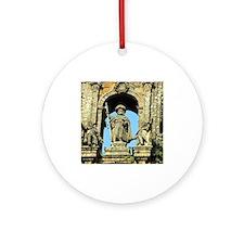 Cathedral of Santiago de Composte Ornament (Round)
