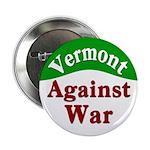 Vermont Against War Button