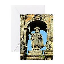 Cathedral of Santiago de Compostela Greeting Cards