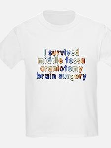 Middle fossa craniotomy - T-Shirt