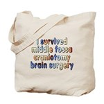 Middle fossa craniotomy - Tote Bag